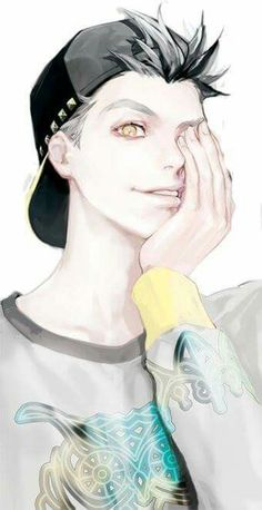 Bokuto Kotaro is very sexy on this fanart I'm totaly in love of this Haikyuu's character