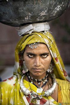 """The Look"" by Kaushal Parikh--Jodhpur, Rajasthan, India. Her eyes are so intense."