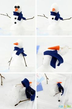 A great winter science activity for preschoolers! Make a small snowman with real snow, then make predictions about what will happen to him in a warm place. Use the free printable to record your observations! Scientific method made easy! Me Preschool Theme, Preschool Science Activities, Early Learning Activities, Weather Activities, Preschool Lesson Plans, Snow Theme, Snow Fun, Cool Science Experiments, Scientific Method