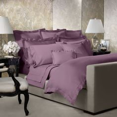 Ralph Lauren 624 Sateen Solid Duvet Cover, Twin