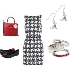Cute!  I have all of these pieces...may have to try for football season! :)