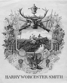 Ilustraciones para tus eventos // Illustrations for your celebrations: Alucinante ilustración vintage de Harry Worcester Smith