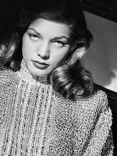 Lauren Bacall, those beautiful eyes