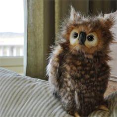 Hansa Owl | Hansa Stuffed Animal | Toys that Teach | Imagination Toys