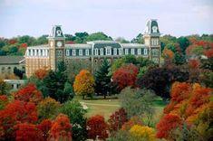 University of Arkansas, Fayetteville, Arkansas Arkansas Usa, Fayetteville Arkansas, University Of Arkansas, Arkansas Razorbacks, University Dorms, University Logo, Places Ive Been, Places To Visit, Eureka Springs