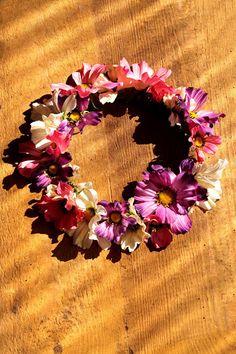 flower crown, head band, spring flower, DIY Pikczer For Ticzer