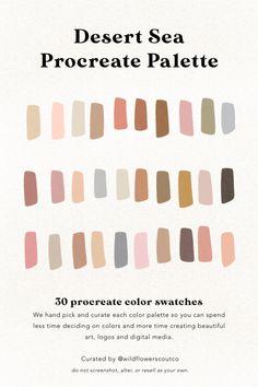 Colour Pallette, Colour Schemes, Color Combos, Earthy Color Palette, Palette Design, Palette Art, Graphisches Design, Collor, Guache