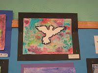 MPM School Supplies Peace Doves Watercolor Art Project For Kids