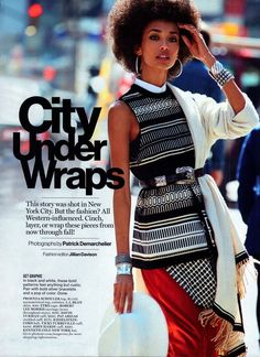 FAB Editorial: Anais Mali In Glamour US Magazine's June 2014 Issue