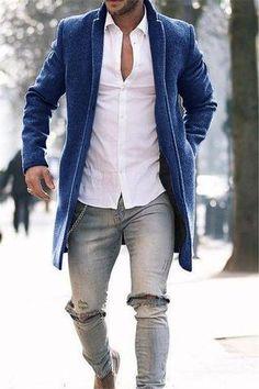 d1771290248 Fashion Pure Color Long Warm Coat