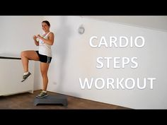 10 Minute Steps Cardio Workout Routine At Home - YouTube