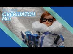 Doll Custom - Overwatch Mei - YouTube Diy Ooak Doll, Ooak Dolls, Barbie Dolls, Overwatch Mei, Lunch Box, Youtube, Bento Box, Barbie Doll, Youtubers