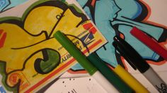 Best Markers For Graffiti Stickers - Making Good Stickers With Cheep Mar...
