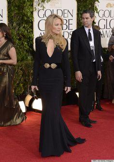 Kate Hudson in Alexander McQueen, 2013 Golden Globe Award