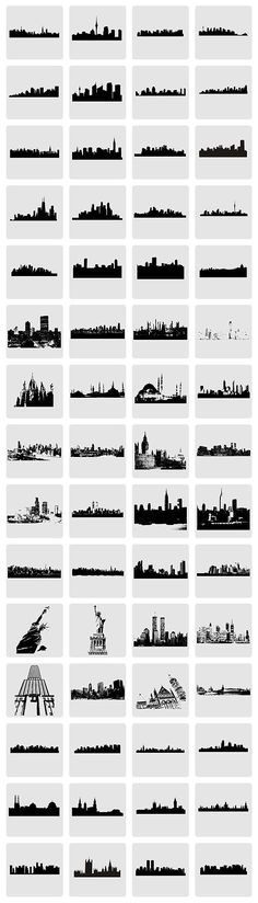 HOT FREEBIE – Vector City Skylines and Monuments: