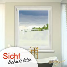 Vinilos Fensterdekor Milchglasfolie Sichtschutz Folie Badezimmer Oase Bad