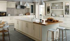 Bella Alabaster Traditional Kitchen - By BA Components. Kitchen doors, interior design