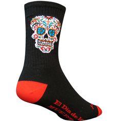 "SockGuy El Dia Crew 6"" Socks Cycling Socks"