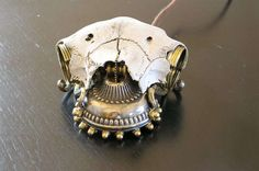 63 Steampunked Inventions         Skull Mouse
