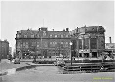 Carré d'Youville années 40. Canada, Quebec, Montreal, Louvre, Building, Images, Travel, Souvenir, Antique Pictures