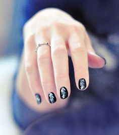 Feathers on nails