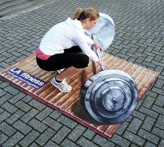 3D Street Art - Street Art by Joe and Max