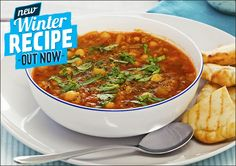 Looking for a delicious vegetarian soup? Then try this tasty Moroccan Chickpea and Lentil Soup!