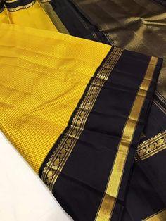 Kanjivaram Sarees Silk, Blue Silk Saree, Kanchipuram Saree, Soft Silk Sarees, Saree Blouse Neck Designs, Fancy Blouse Designs, Saree Jewellery, Stylish Blouse Design, Wedding Silk Saree