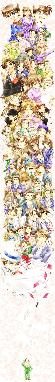 Anime: Detective Conan Rate: 9 EXTRA: MAGIC KAITO!!!! My Summary: Conan is a fake name that the guy had to make up for his apperance. This is because he was poisoned and was supposed  to die but didn't. He just turns to a kid.