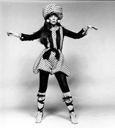 Anglo-American teenager Penelope Tree epitomized the Swinging London of the 1960s.