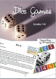 Dice Games - 10 engaging math