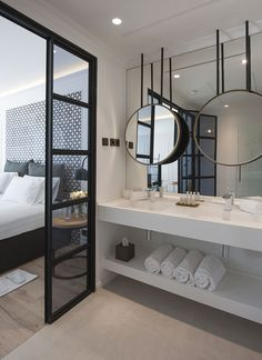 Is To Me | Bedroom with ensuite bathroom
