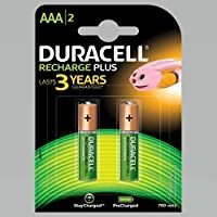 Duracell Recharge Plus Aaa 750 Mah Batteries Pack Of 2 Duracell Usb Flash Drive Smart Tech
