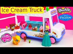 MLP Shopkins Season 3 So Cool Fridge Refrigerator My Little Pony Mcdonalds Pinkie Pie Toy Blind Bags - YouTube