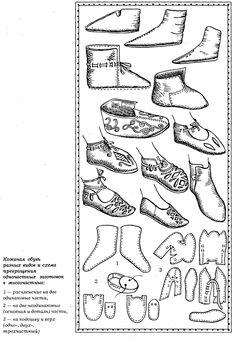 Buty słowiańskie