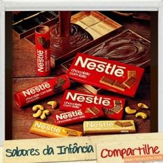Chocolates Antigos da Nestle