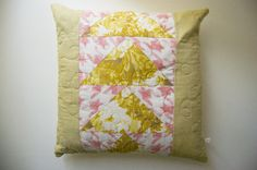 Original Spring Geese Quilted Patchwork by WiseCrafthandmade Patchwork Pillow, Girl Room, Pillow Covers, Unique Jewelry, Throw Pillows, Handmade Gifts, The Originals, Spring, Diy