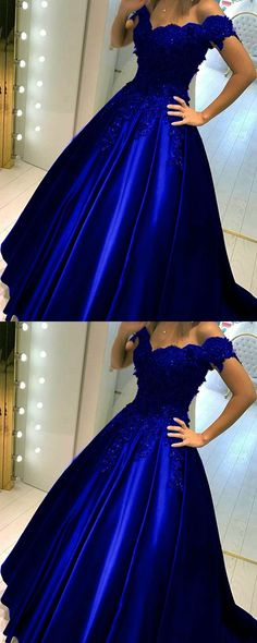Royal Blue Quinceanera Dresses,Royal Blue Prom Dress,Ball Gowns Prom Dresses