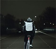 Volvo LifePaint is Perfect for Safety-Conscious Cyclists -  #bikes #paint #safety #volvo