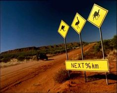 Australia.  Kangaroos, Ostriches, and Camels; oh my