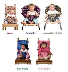 Gogobuybuy- Housse de siège Bébé sangle de sécurité de la chaise Réhausseur pour chaise Harnais (apple)