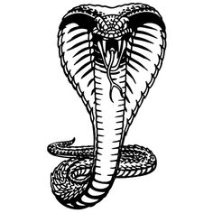 King Cobra Coloring Pages