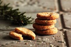 Rosemary Sea Salt Crackers