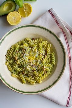 This easy avocado pesto recipe takes just 15 minutes to prepare and is packed with fresh, clean flavours. Using avocado makes it a healthier alternative to regular basil pesto.