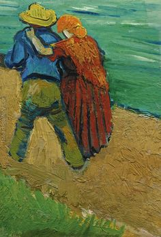 Two Lovers (Fragment) Vincent Van Gogh Reproduction | 1st Art Gallery
