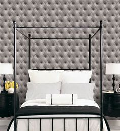 Upholstery Wallpaper. Norwall Illusions II. Patton Wallcoverings. http://lelandswallpaper.com