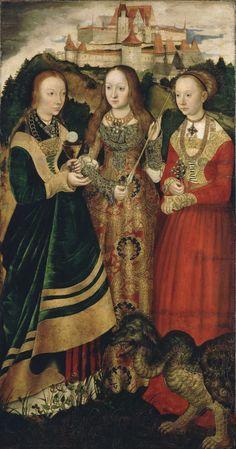 Staatliche Kunstsammlungen Dresden - Lucas Cranach the Elder - Altarpiece with the Martyrdom of St Catharine