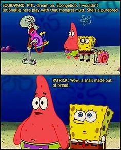 haha:) I love spongebob!