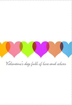 valentine day card text