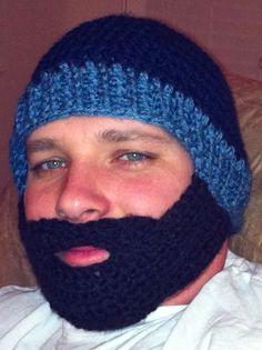 434fda0d9fd Adult beard hat  ) Love it! Tiffany Washa · Tiff s Creations